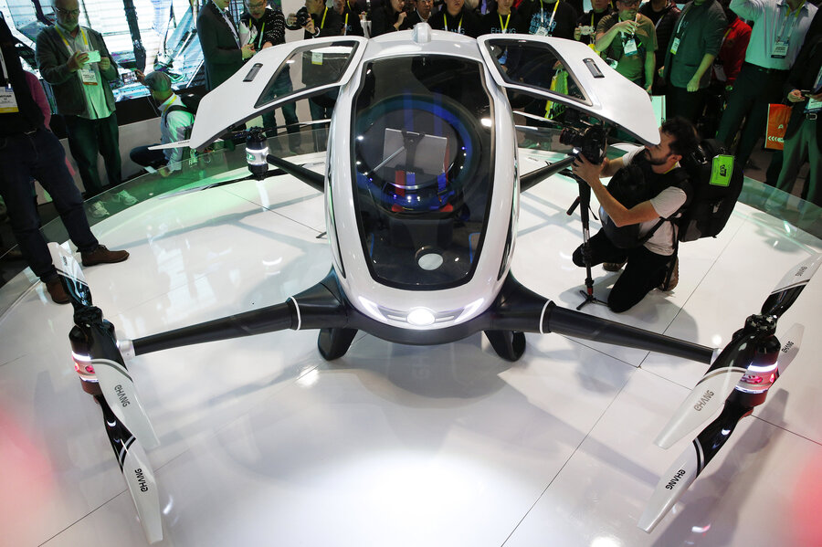 Drone Taxis Nevada To Allow Testing Of Passenger