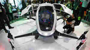 Drone Taxis? Nevada To Allow Testing Of Passenger Drone