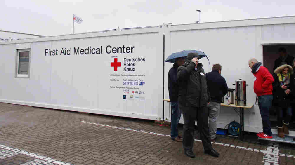 In Germany, Asylum Seekers' Medical Needs Are Being Contained