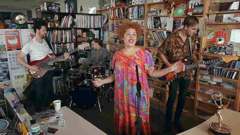 Tiny Desk Concert with Weaves.
