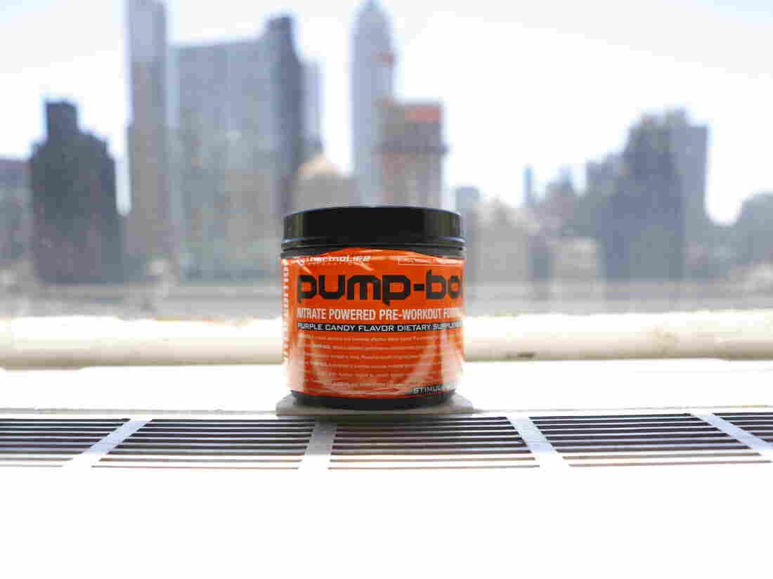 Pump Bol, a workout supplement containing arginine.