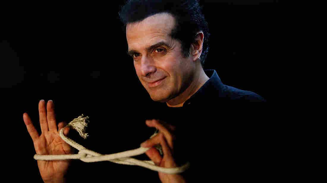 Magician David Copperfield.