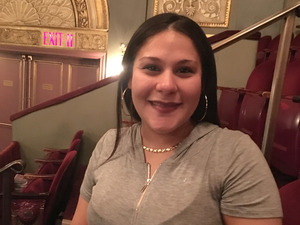 Michelle Gonzalez has been an usher for 11 years. She's the newly elected shop steward at the Brooks Atkinson Theatre, home of the musical Waitress.