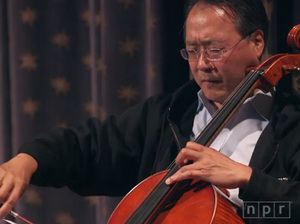 Cellist Yo-Yo Ma performs live in New York City on June 7, 2015 at a special NPR Music event.