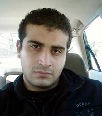 This undated image shows Omar Mateen, who authorities say killed dozens of people inside the Pulse nightclub in Orlando, Fla.