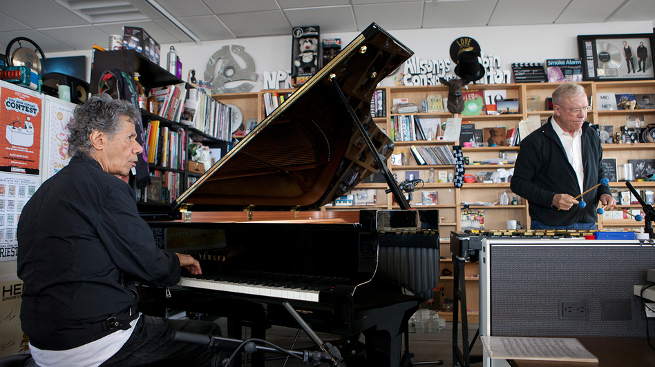 Tiny Desk Concert with Chick Corea & Gary Burton. (NPR)