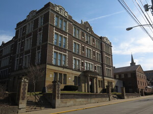 Wilkinsburg Junior and Senior High School, the only public junior and senior high school in the small suburb, is closing.