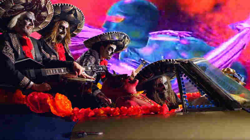 "A still from Rob Zombie's ""The Life And Times Of A Teenage Rock God"" video."