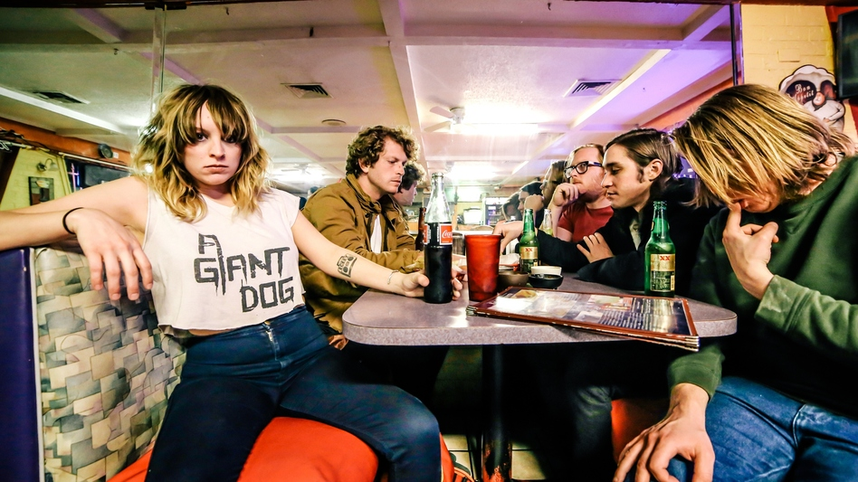 """KUTX in Austin, Texas, loves A Giant Dog's new song """"& Rock & Roll."""" (Courtesy of the artist)"""
