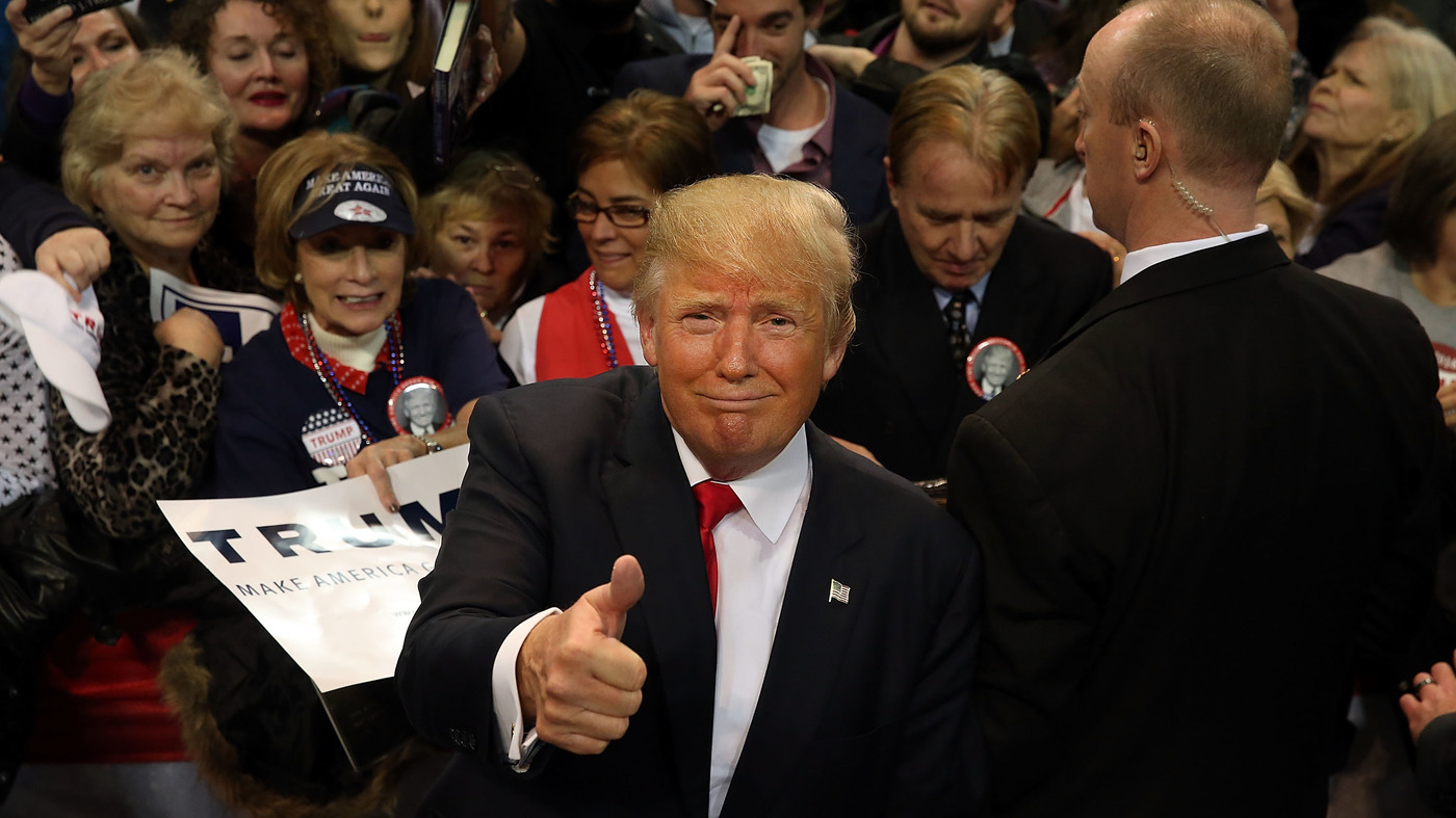 Trump would be oldest president ever to take office with clinton close behind npr - When did clinton take office ...
