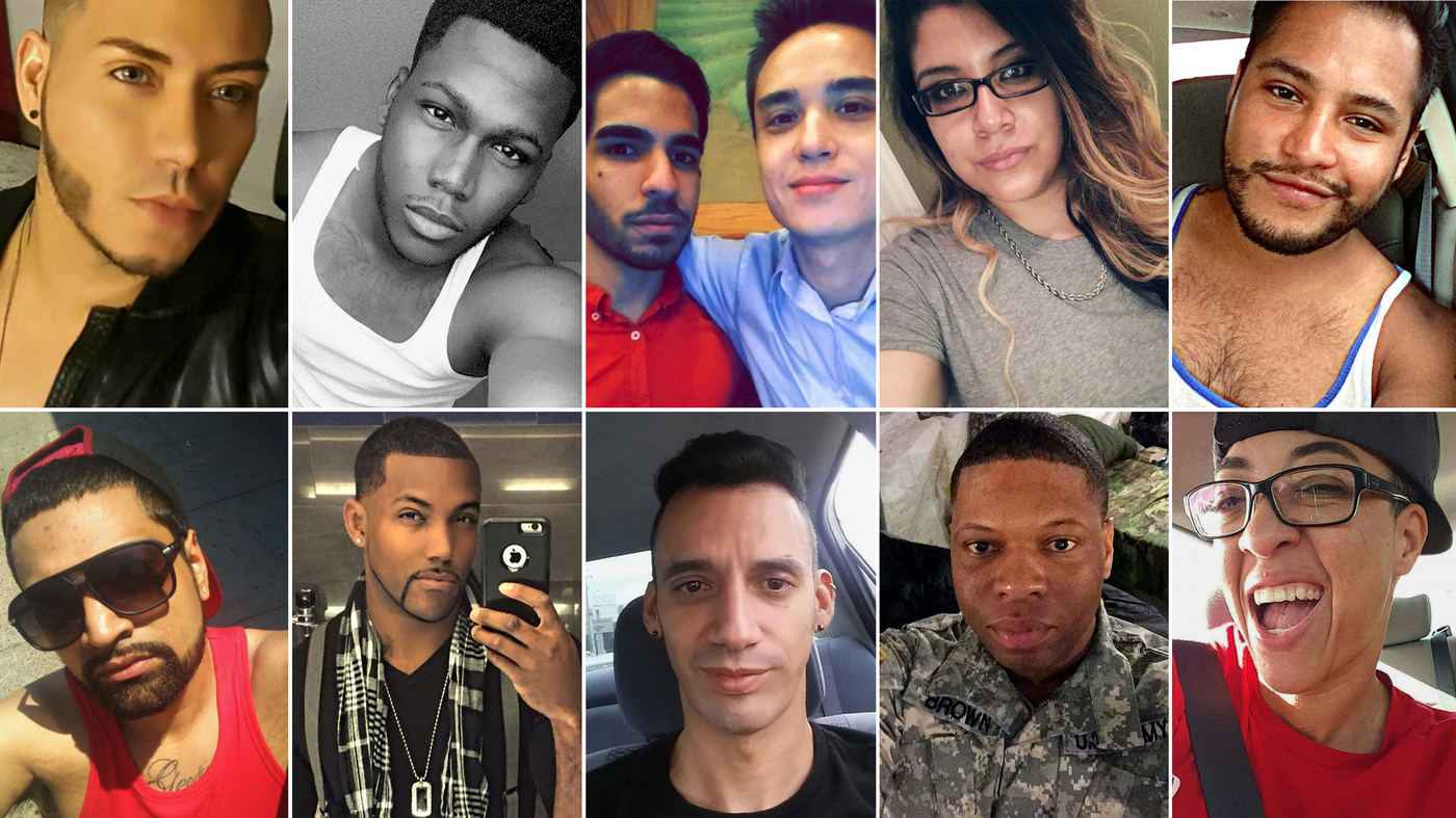 orlando shooting victims their names and their stories the two