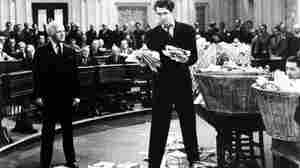Jimmy Stewart in Mr. Smith Goes to Washington.