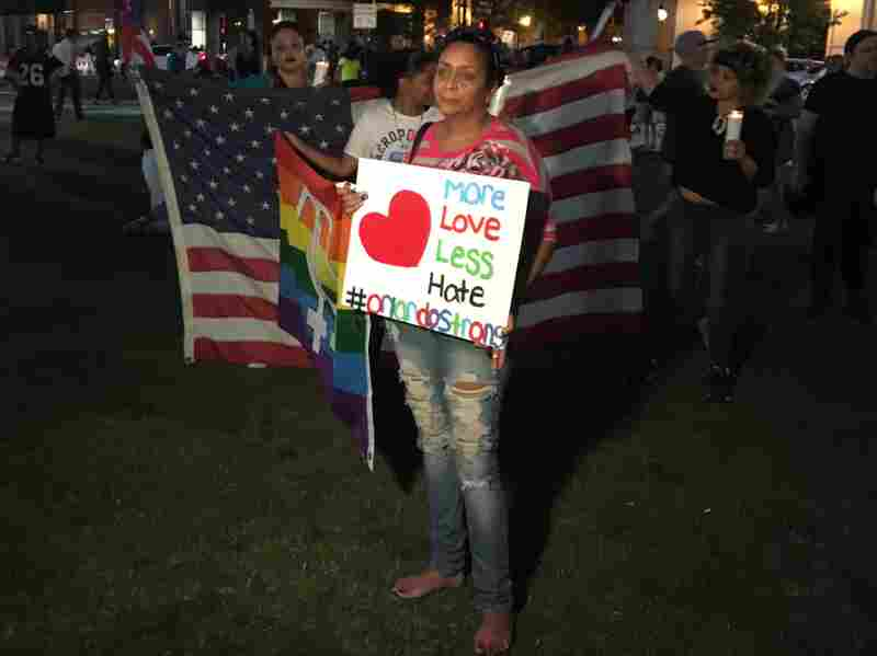 Marangely Valdes said ten of her friends were killed in Sunday's shooting at the Pulse nightclub.