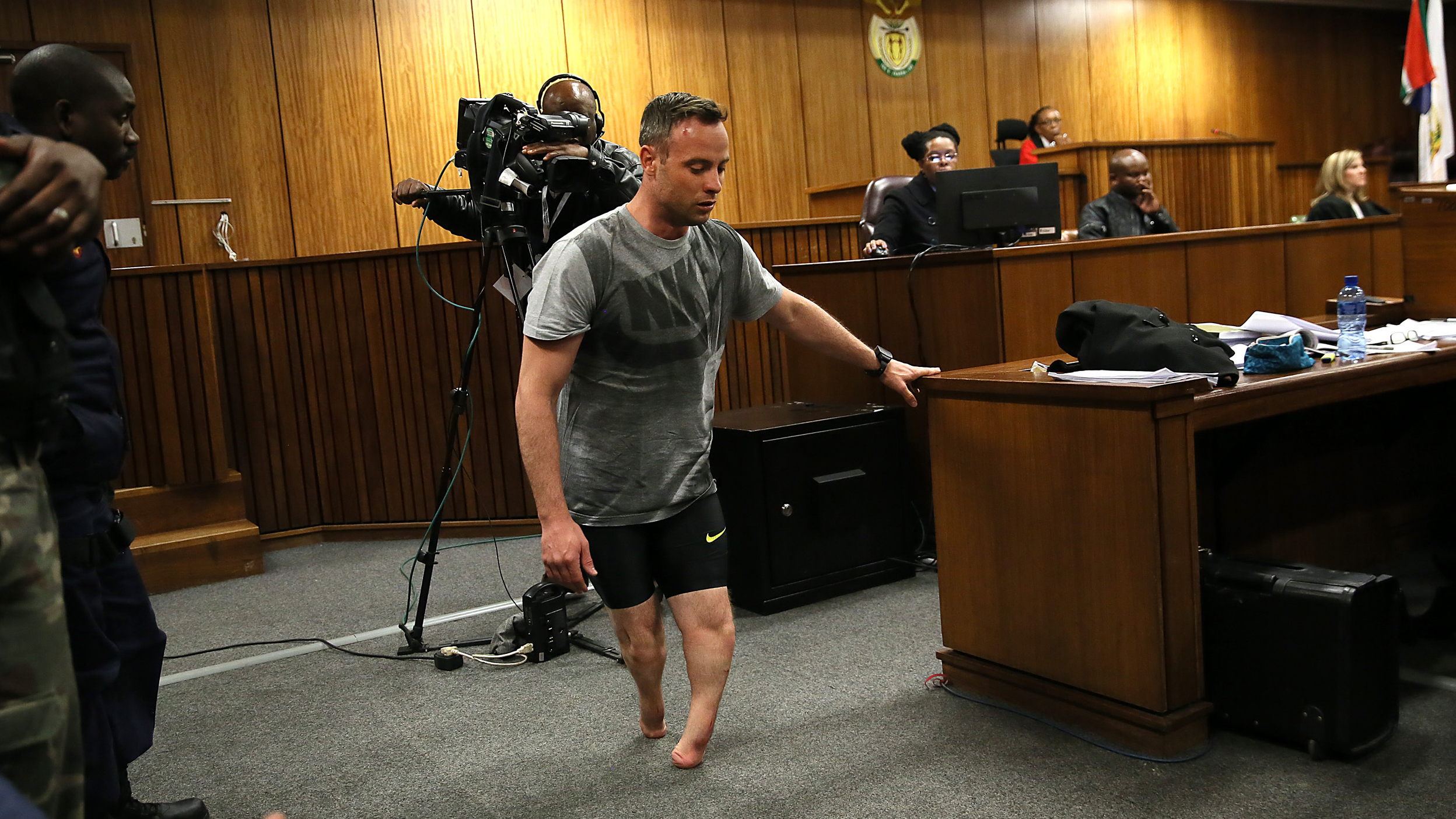Wounded Veterans Pose Nude In Michael Stokes Photo Book additionally Oscar pistorius and mckayla maroney beautiful losers also Ellie May Challis The Little Girl With No Limbs in addition Oscar Pistorius Charged Murder Reeva Steenk  Dead besides Pistorius Walks Without His Prosthetic Legs In Dramatic Show At Sentencing Hearing. on oscar pistorius legs amputated