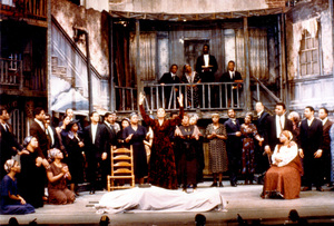 Inspired by a production he saw in Cold War East Berlin, David Gockley presented a full operatic version of Gershwin's classic Porgy and Bess at Houston Grand Opera in 1976. The production traveled to Broadway, where it won a Tony Award.