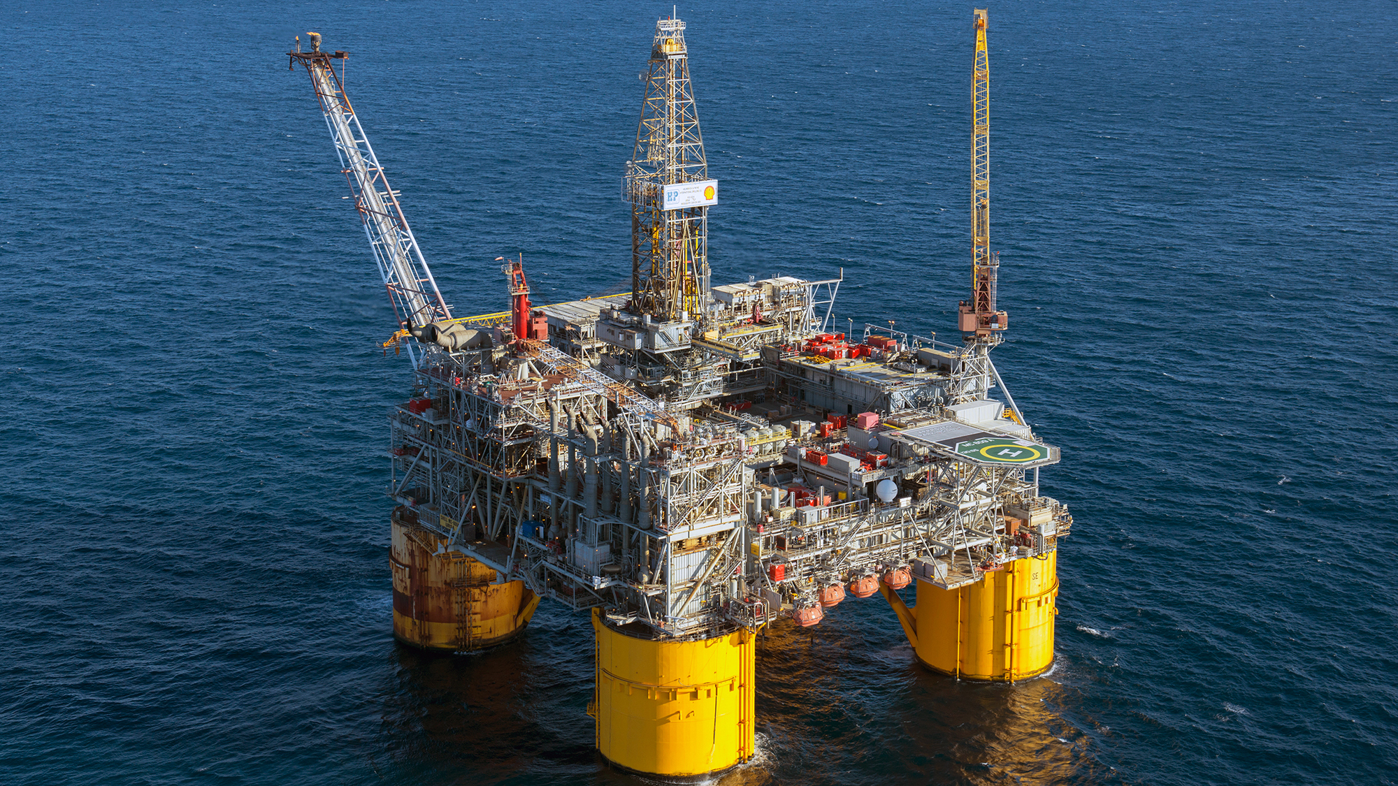 What does an oil rig look like? 15