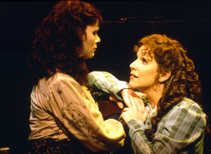 Houston Grand Opera gave the world premiere of Mark Adamo's Little Women (based on the Louisa May Alcott book) in 1998 and revived it the following season. A young Joyce DiDonato (right) played the part of Meg, with Stephanie Novacek as Jo.