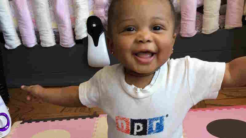 Arya Shine, proud daughter of hip-hop and the man who runs all the @NPRHipHop socials, the one and only Cedric Shine.