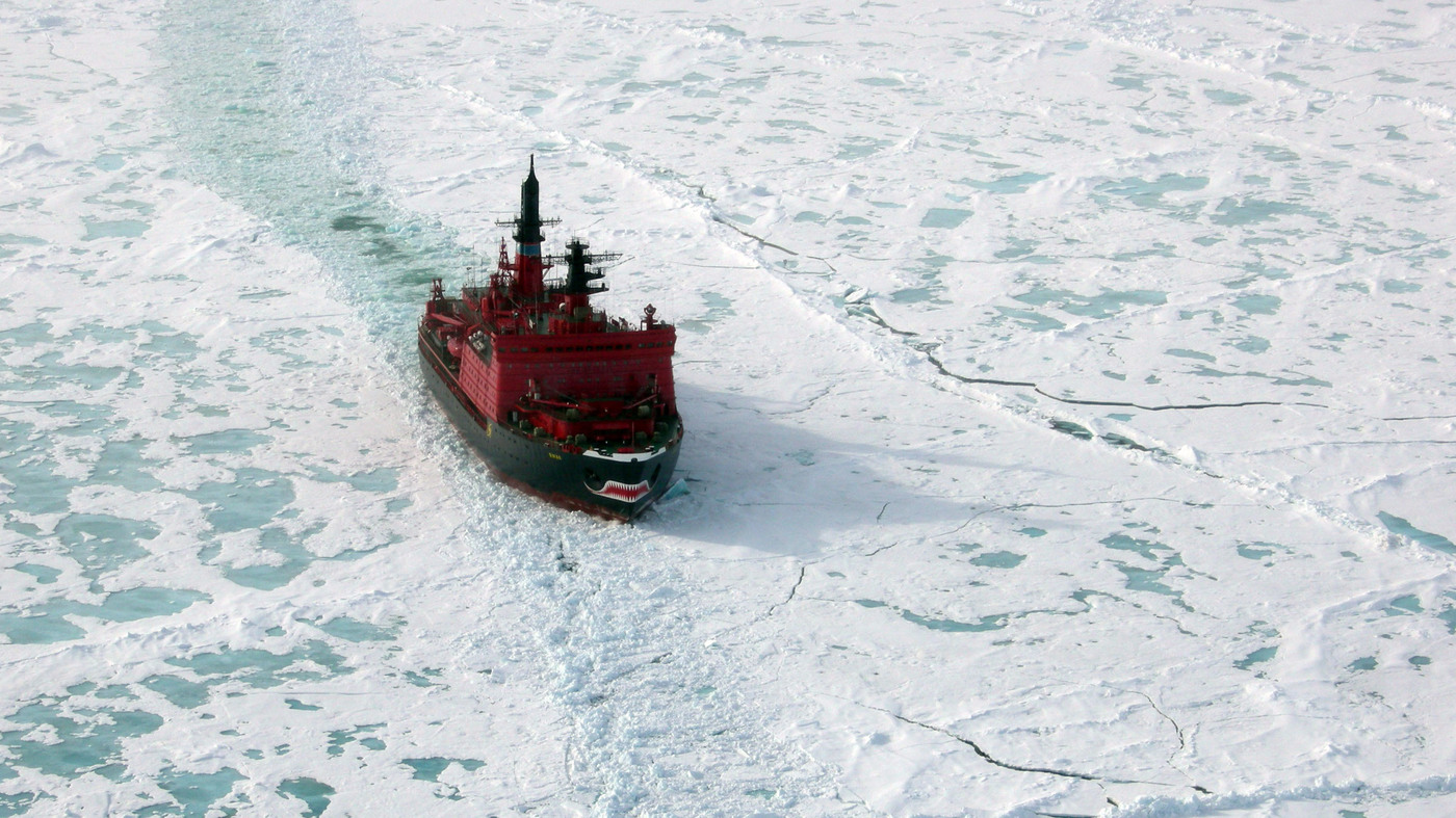 Russia Launches World S Biggest Most Powerful Icebreaker