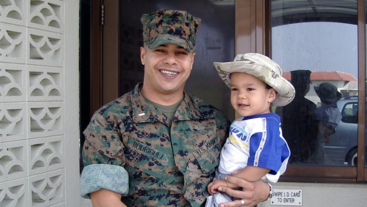 After Deployment, Marine Returns To Find His 'Most Important Thing': Fatherhood