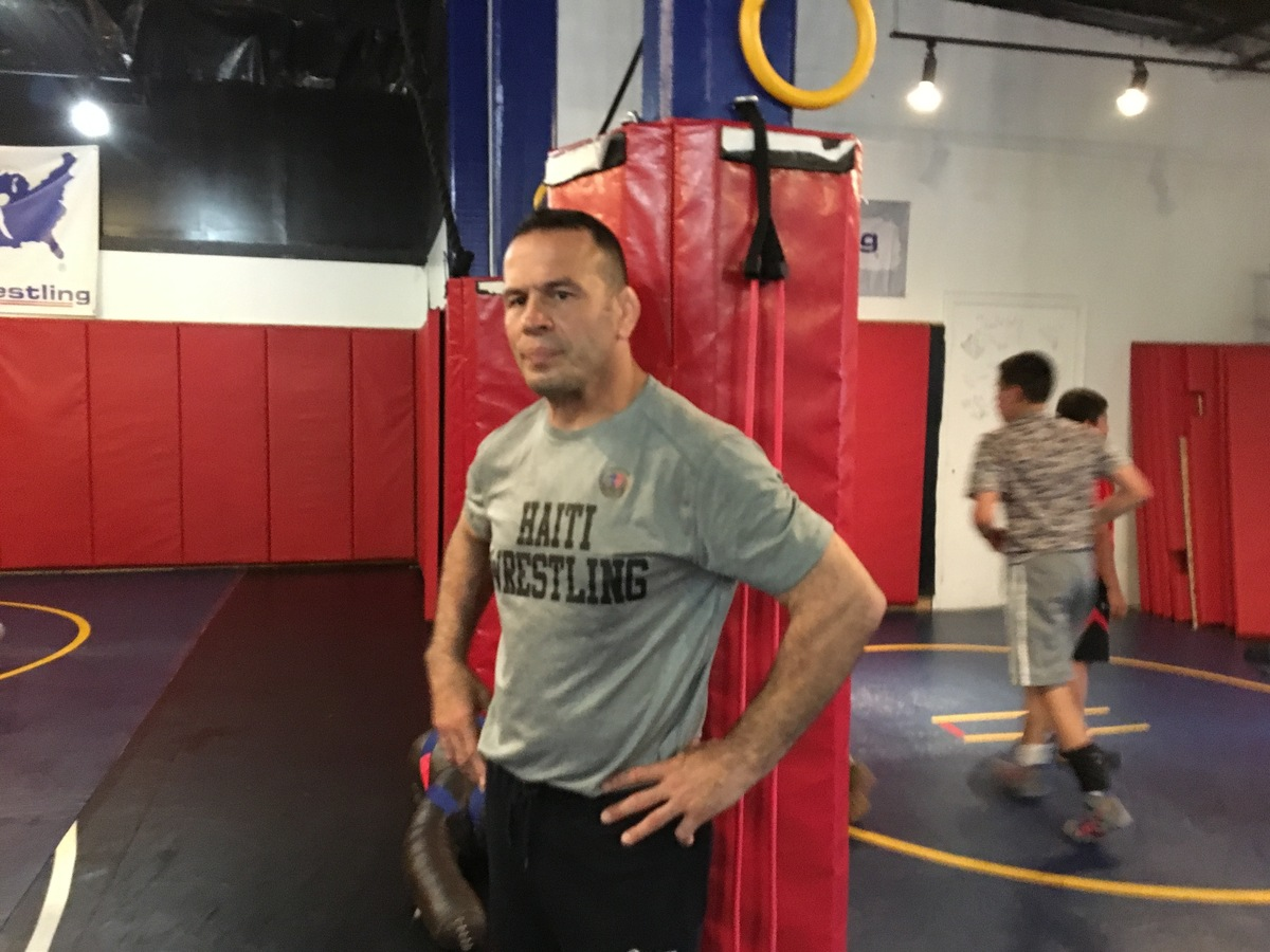 Springfield, Mass , Wrestler Hopes To Win Haiti's First