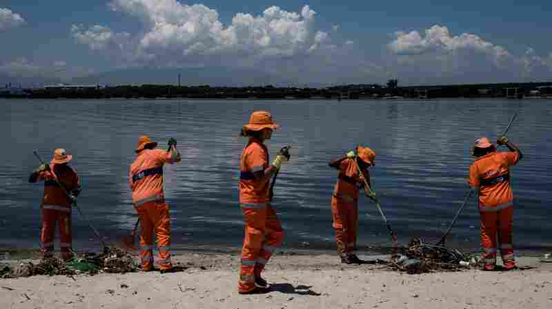 For Olympic Sailors And Fishermen Alike, Rio's Dirty Bay Sets Off Alarms