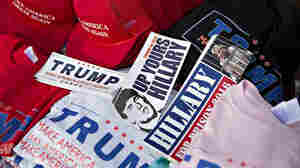F-Bomb On A T-Shirt: At Trump Rallies, Profanity Comes Onstage And Off