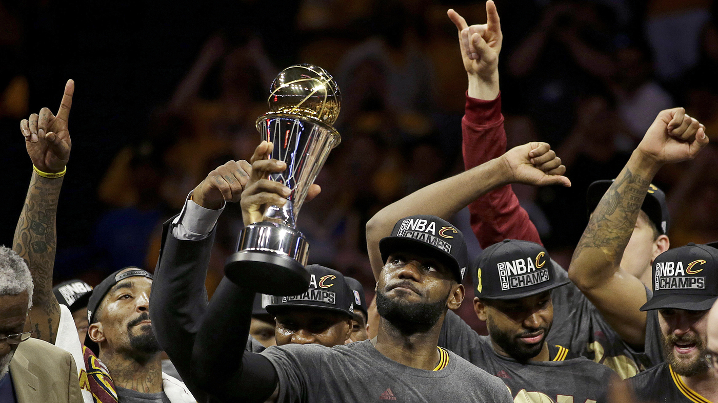 quality design 39c28 54277 Cleveland Cavaliers' Championship Win Means A Lot To This ...
