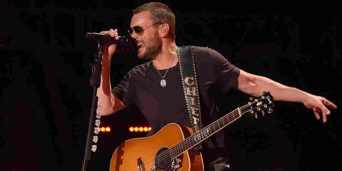 Musician Eric Church performs onstage during 2016 the CMA Festival in Nashville, Tennessee.