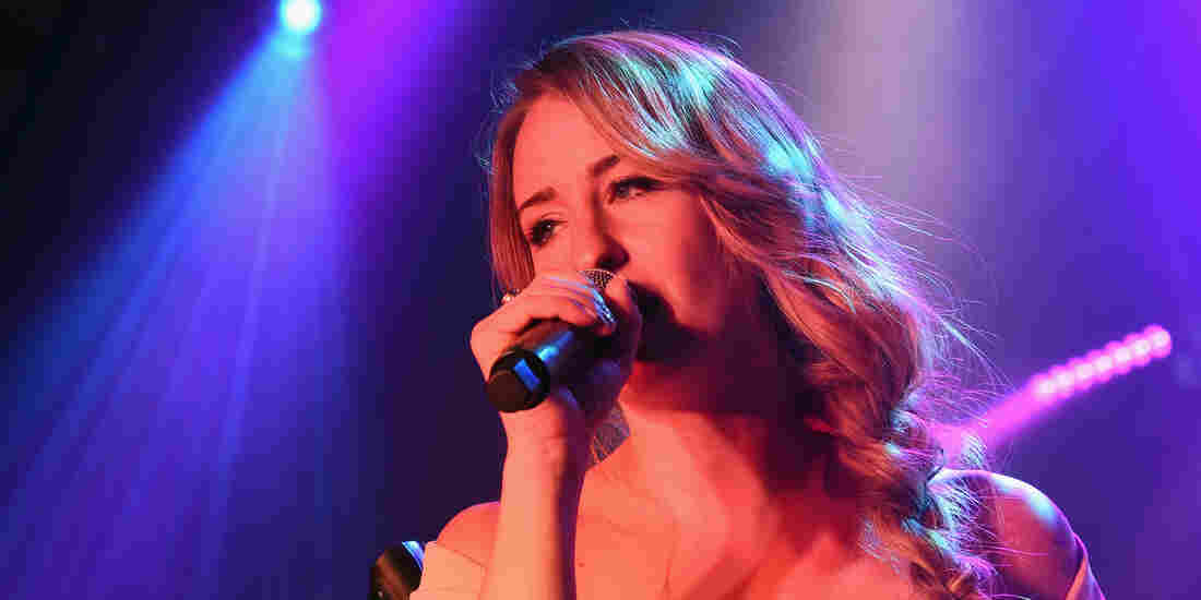 Margo Price on stage during CMA Fest 2016.