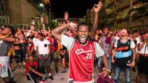 PHOTOS: Cleveland Rejoices After First Major Sports Title In A Half-Century