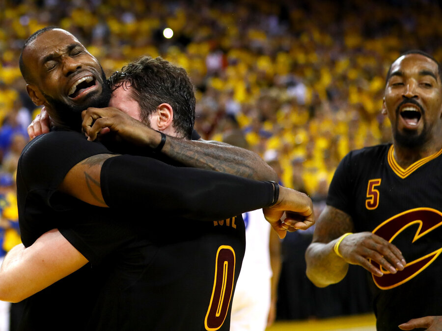Cleveland Cavaliers Beat Golden State Warriors Three Nine To Win Their First Nba Title