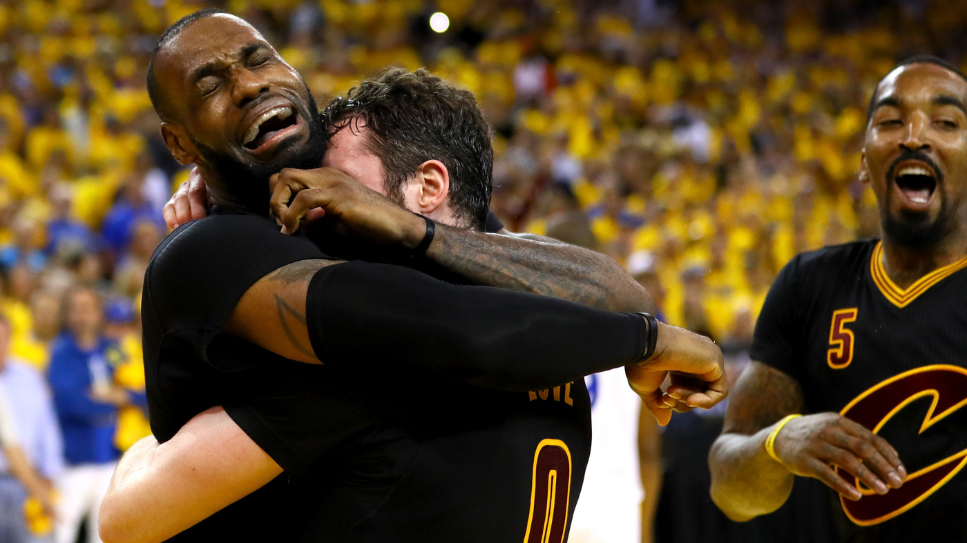 edcd38bcb13 Cleveland Cavaliers Beat Golden State Warriors 93-89 To Win Their First NBA  Title