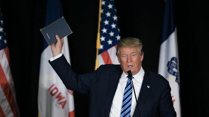 Inside Trump's Closed-Door Meeting with Evangelicals