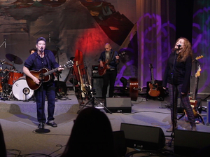 Laura Veirs, k.d. lang and Neko Case perform their collaborative album case/lang/veirs at OPB in Portland, Ore.