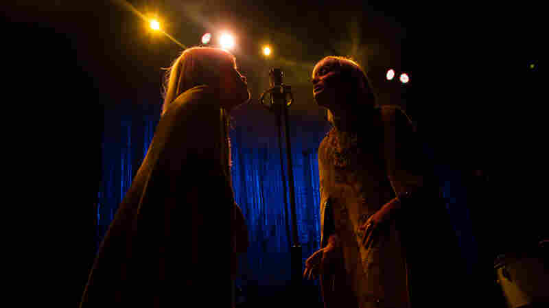 Lucius performing at the live 9:30 Club in Washington, D.C.