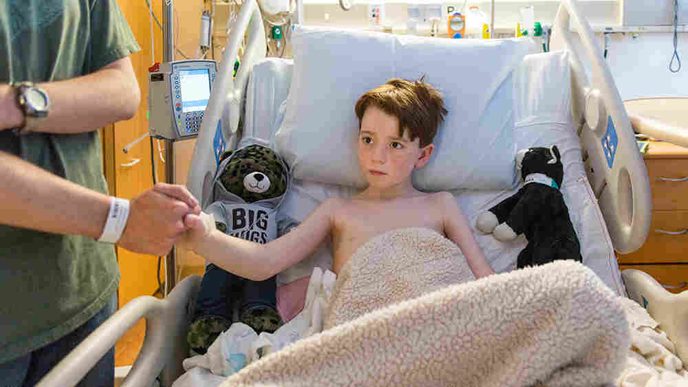 Doctors Get Creative To Soothe Tech-Savvy Kids Before Surgery