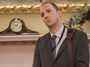 Tony Hale plays Gary Walsh, the personal assistant to Selina Meyer, on the HBO series, Veep.