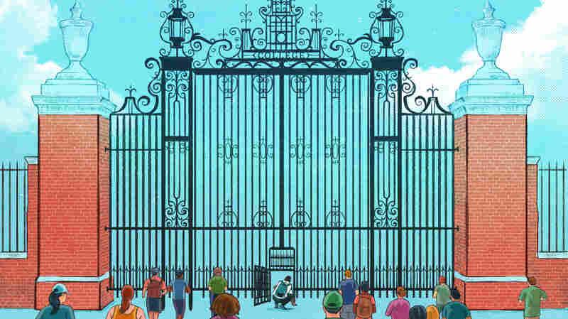 Narrow door to college