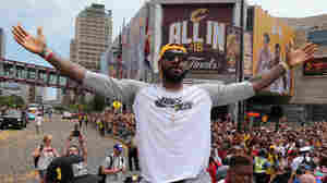 PHOTOS: Hordes Of Fans Gather In Cleveland For Championship Parade