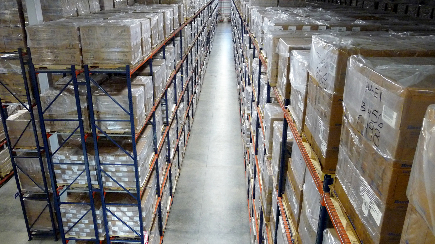 Inside A Secret Government Warehouse Prepped For Health
