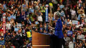 Elizabeth Warren speaks at the Democratic National Convention on Sept. 5, 2012, in Charlotte, N.C.