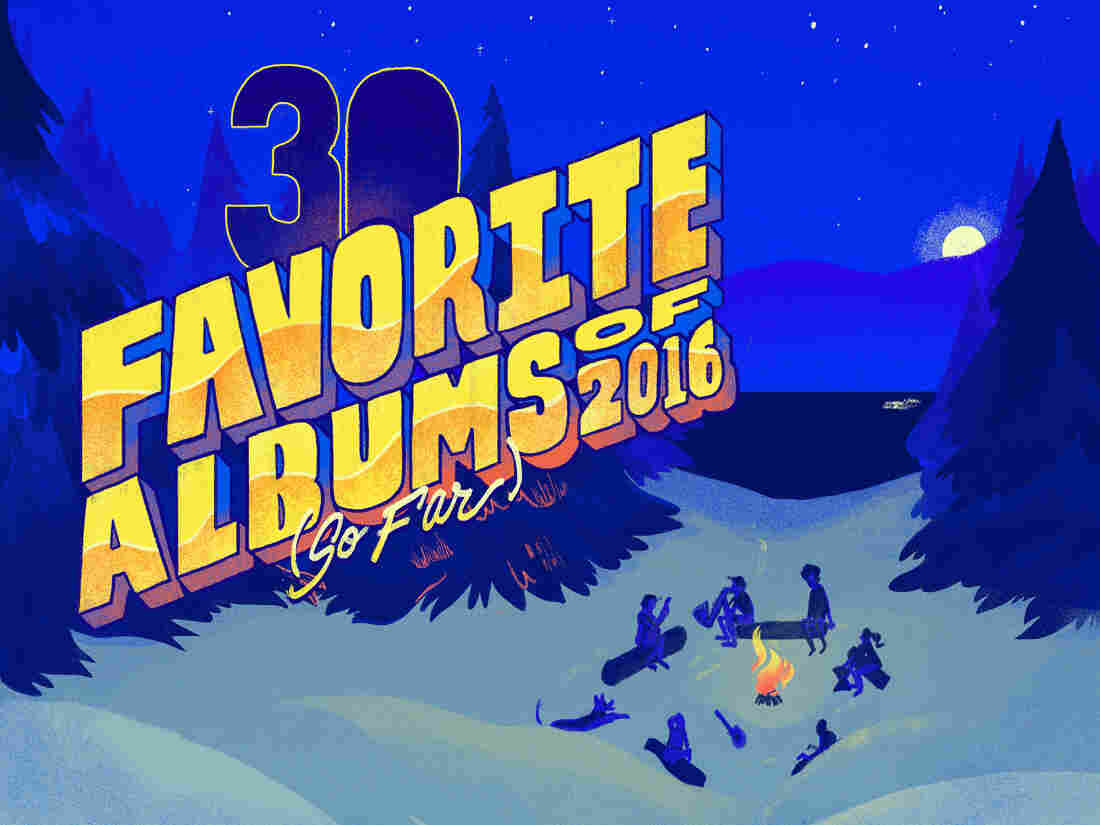 NPR Music's favorite albums of 2016 (so far.)