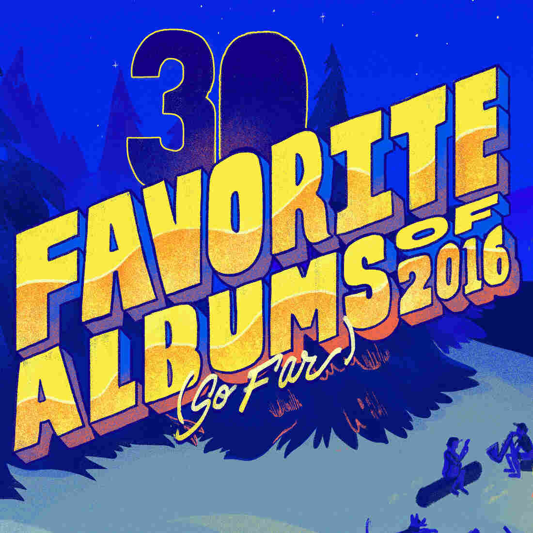 NPR Music's 30 Favorite Albums Of 2016 (So Far)