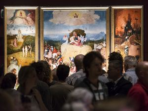 The Noordbrabants Museum's Hieronymus Bosch exhibition was so popular that the museum kept the show open around the clock for its final weekend.
