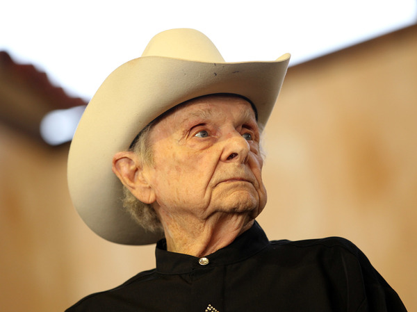 Ralph Stanley at the Stagecoach Country Music Festivalin 2012.