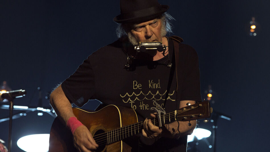 Neil Young. (Courtesy of the artist)