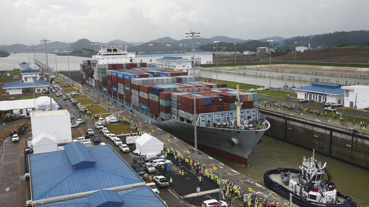 the $5 billion panama canal expansion opens sunday, amidst shipping