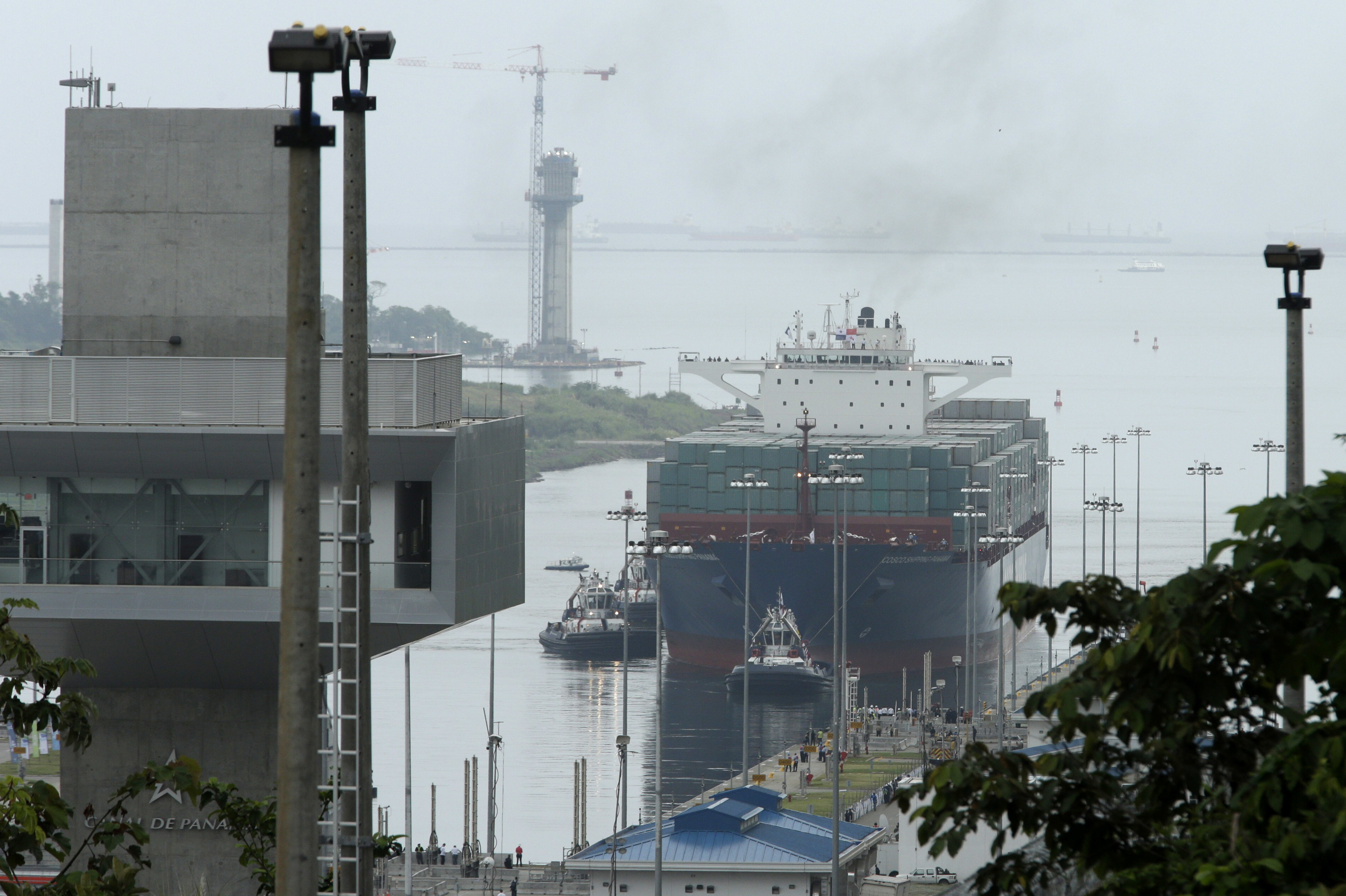 WATCH: Inauguration Of The $5 Billion Panama Canal Expansion