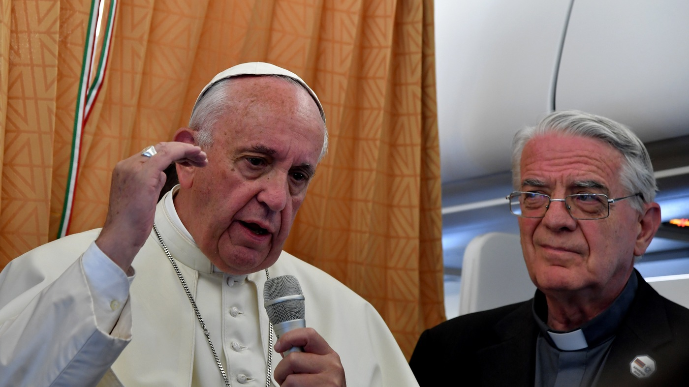 Pope Francis: Church Should Apologize To Gays And Other Marginalized Groups - NPR